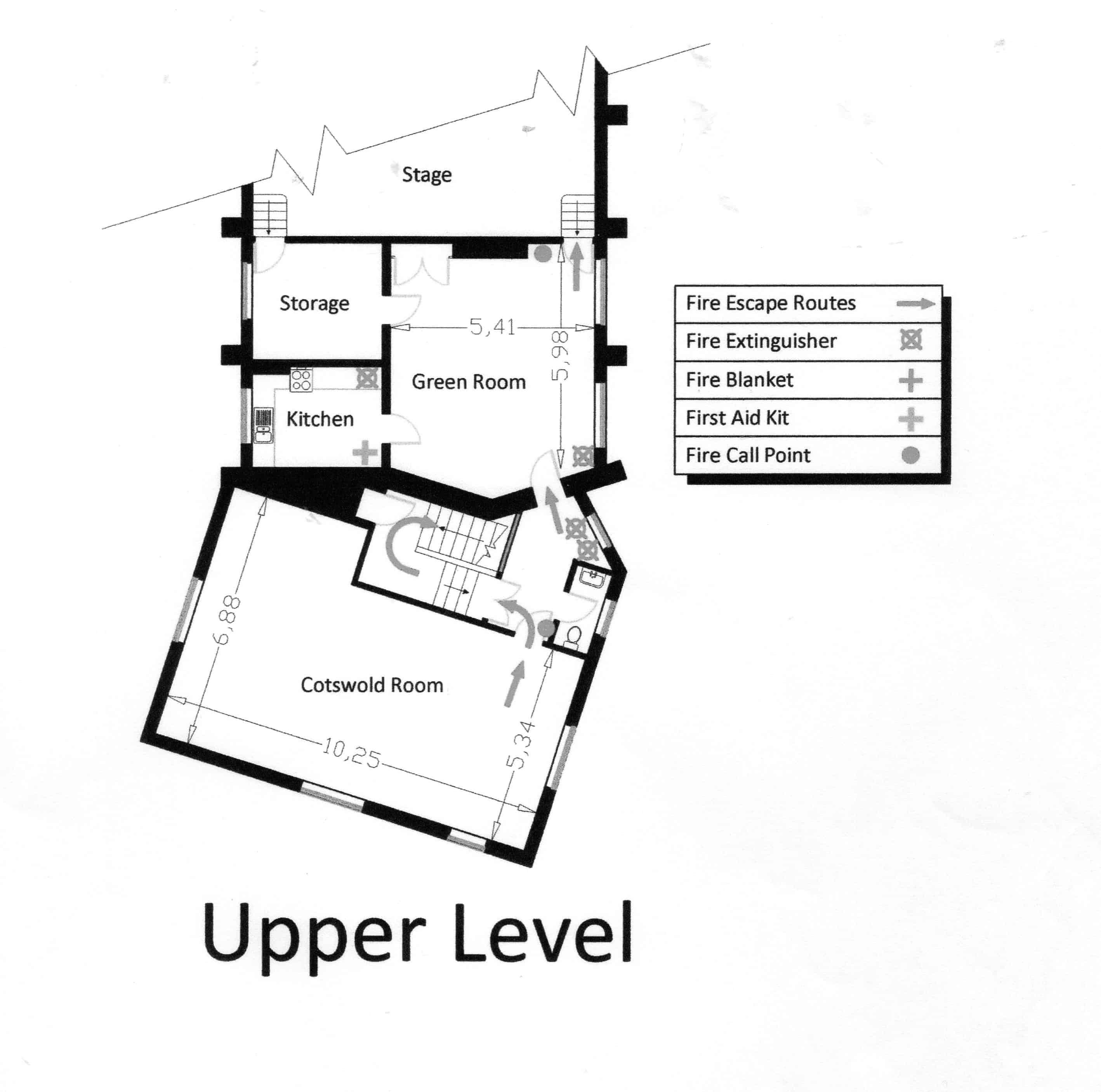 upper level271