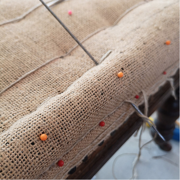 Sew Vintage upholstery classes