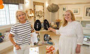 AnneMarie Randall & Sandie Randle, Handmade in Painswick pop-up shop