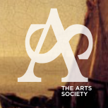 Logo of the Arts Society, an intertwined A & S